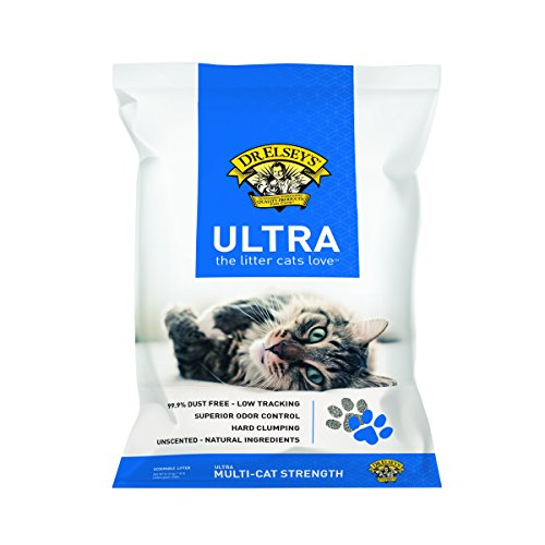 Dr. Elsey's Precious Cat Ultra Cat Litter, 18 pound bag